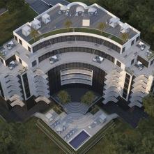 Вид комплекса сверху