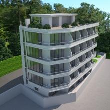 Квартиры с балконами и видом на море