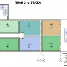 Планировка этажа 2