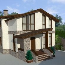 Первый вариант дома