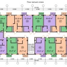 Планировка  жилого этажа