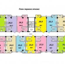 Планировка этажа