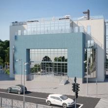 Коммерческое здание на территории комплекса