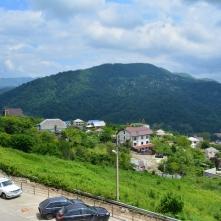 Вид на горы из окон квартиры