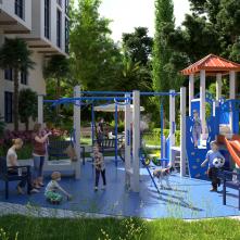 Детская площадка на территории комплекса