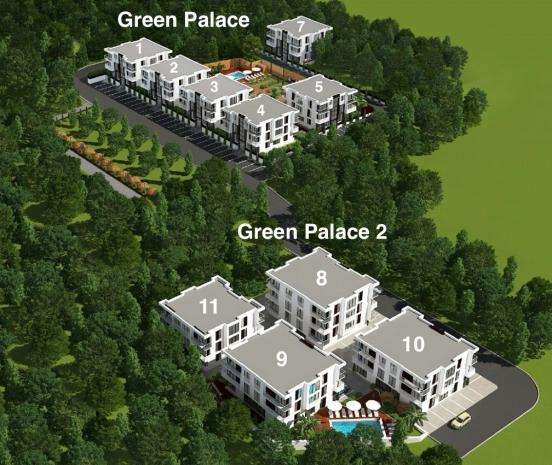 ЖК Green Palace (Грин Пэлас)